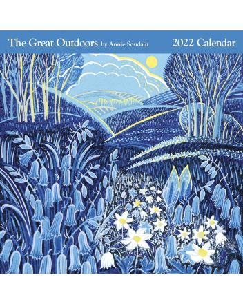 Great Outdoors Lino Prints 2022 Square Calendar