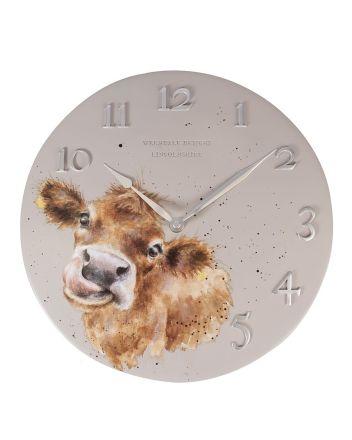 The Country Set - Moo Wall Clock
