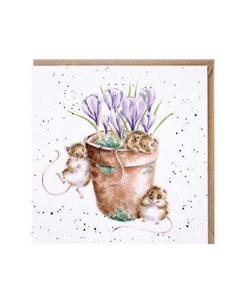 Wrendale Garden Friends Greetings Card
