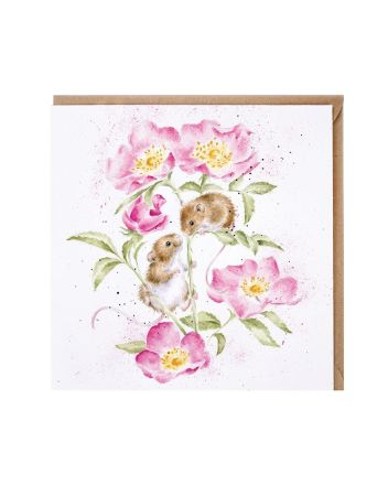 Wrendale Little Whispers Greetings Card