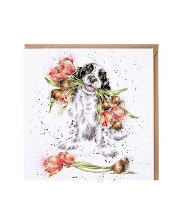 Wrendale Blooming With Love Greetings Card