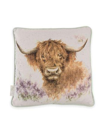 Wrendale Highland Heathers Feather Cushion