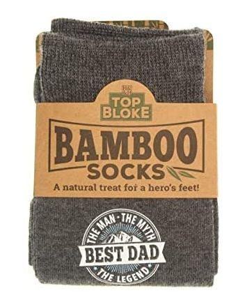 Top Bloke Best Dad Bamboo Socks
