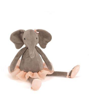 Jellycat Dancing Darcey Elephant Medium Soft Toy