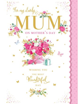Nigel Quiney Pink Flower Bouquet Mothers Day Car