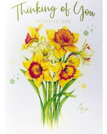 Cherry Orchard Thinking of You Easter Card