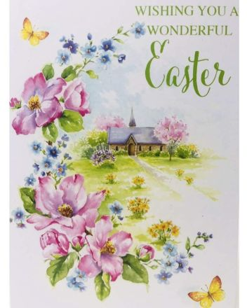 Cherry Orchard Church Wonderful Easter Card
