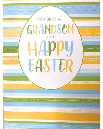 Cherry Orchard Grandson Easter Card