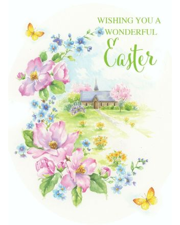 Cherry Orchard Spring Garden Church Easter Cards
