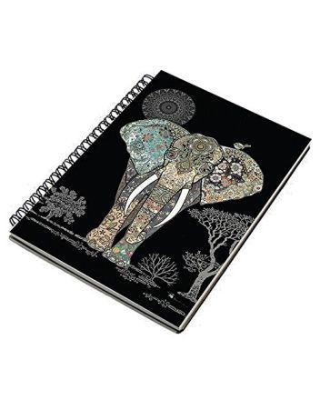 Bug Art - Decorative Elephant Notebook