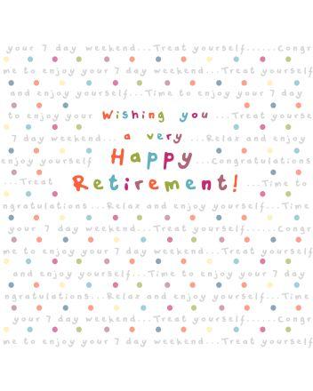 Ella Bella Rose Happy Retirement Card