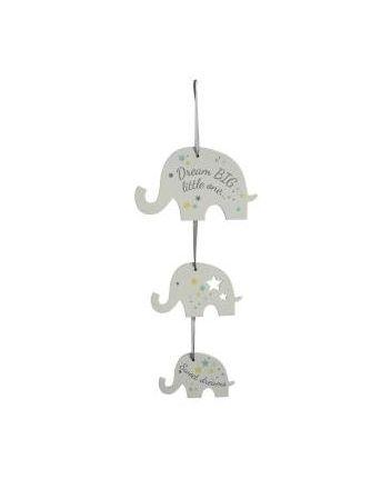Dream Big Elephant Triple Sign