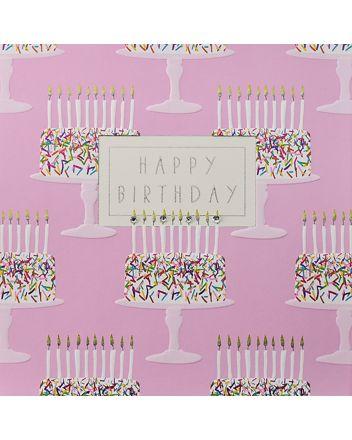 WJB Hey Fresco Frosted Cake Birthday Card