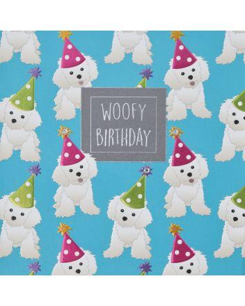 WJB Hey Fresco Dogs Woofy Birthday Card