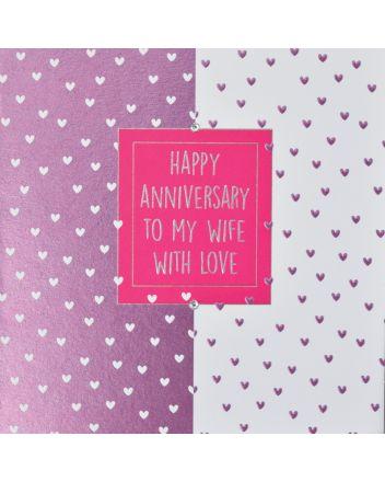 WJB Hey Fresco Wife Anniversary Card