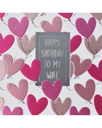 WJB Hey Fresco Wife Birthday Card