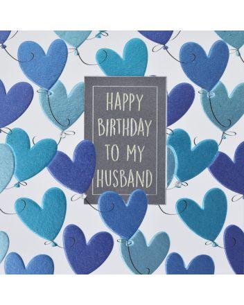 WJB Hey Fresco Husband Birthday Card