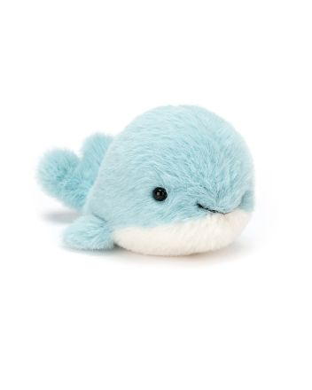 Jellycat Fluffy Whale Small Soft Toy