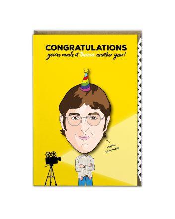 Tache Louis Theroux Birthday Card