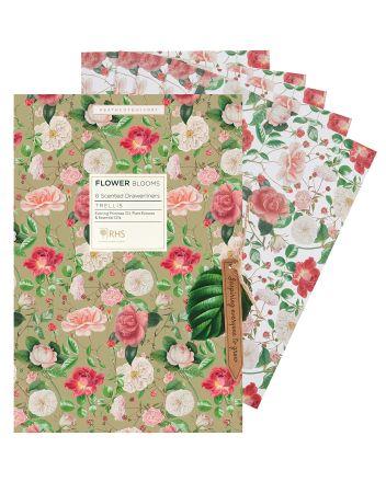 RHS Floral Drawer Liners