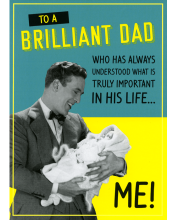 Paperlink What is Truly Important Fathers Day Card