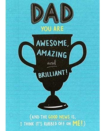 Paperlink Trophy Fathers Day Card