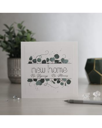 Mrs Lovesy New Home Card