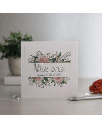Mrs Lovesy Little One New Baby Card