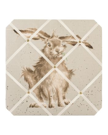 Hare Brained  Fabric Notice Board