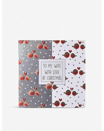 WJB Robins Wife Christmas Card