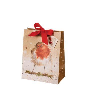 Medium Robin Gift Bag by Wrendale Designs