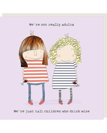 Rosie Made a Thing Tall Children Birthday Card