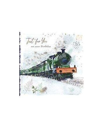 Good Fellow Steam Train Birthday Card