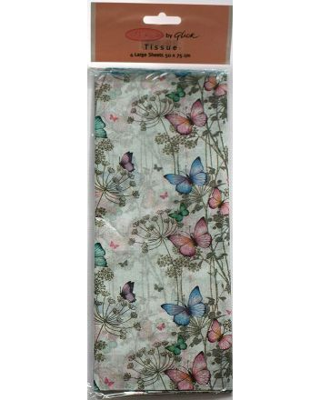 Butterfly Trail Tissue Paper