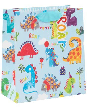Dinosaur Childrens Gift Bag
