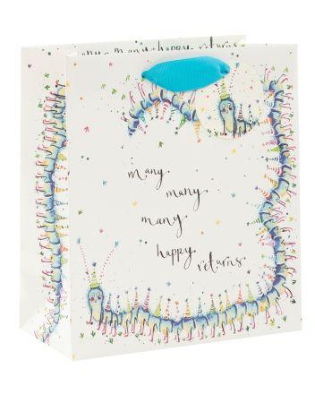 Many Happy Returns Centipede Gift Bag