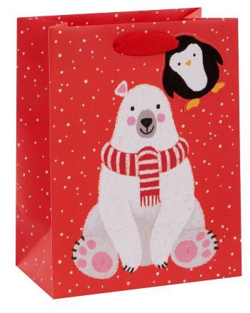 Santas Little Helpers Medium Gift Bag