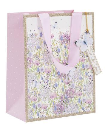 Glick Lilac Garden Medium Gift Bag