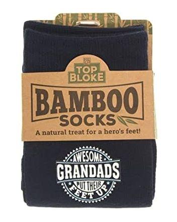Top Bloke Awesome Grandad Bamboo Socks