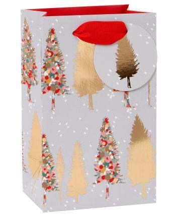 Christmas Trees in Snow Perfume Gift Bag