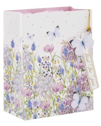 Glick Lilac Garden Small Gift Bag
