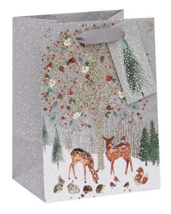 Pizazz Deer Friends Mini Gift Bag
