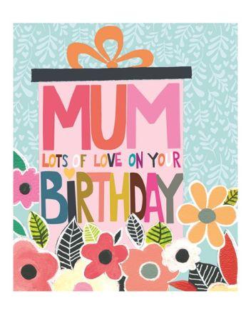 Paper Salad Hunky Dory Mum Birthday Card