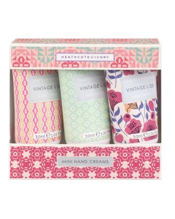 Vintage & Co - Mini Hand Cream Set
