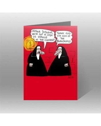 Great British Card Company Nuns Birthday Card