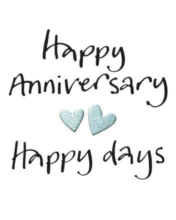 Lucilla Lavender Happy Days Anniversary Card