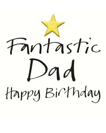 Lucilla Lavender Fantastic Dad Birthday Card