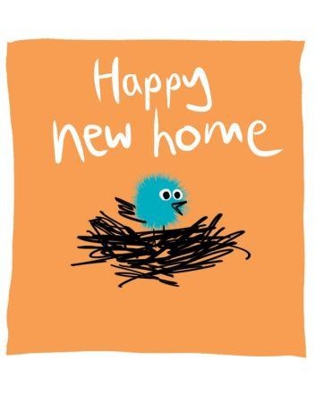 Lucilla Lavender Happy New Home Card