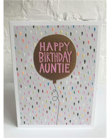 Paper Salad Jamboree Auntie Birthday Card