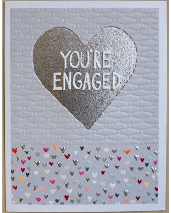 Paper Salad Jamboree Engagement Card